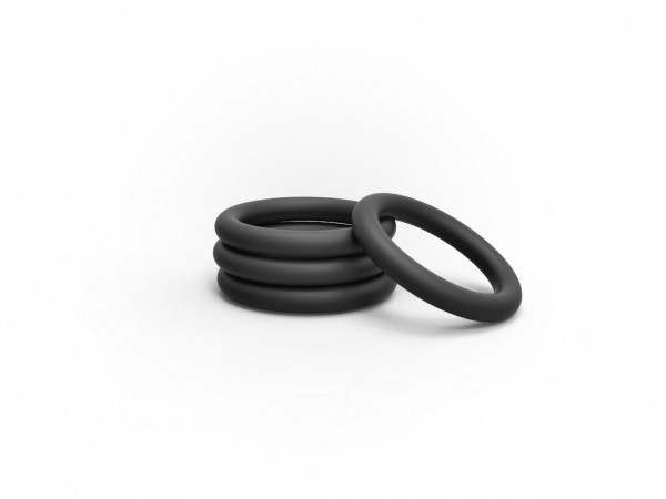 Extra set of silicone-rings for Back Up