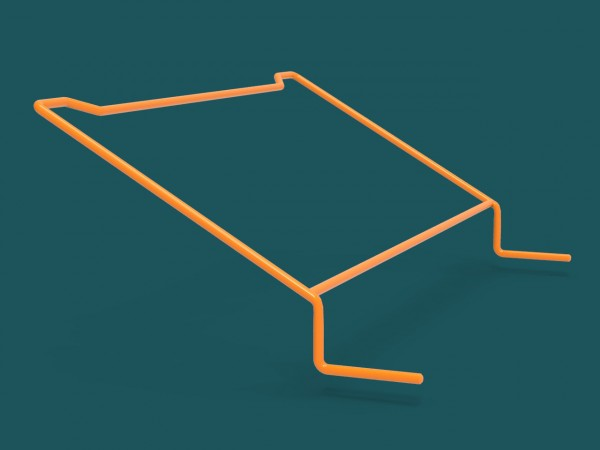 Displaybracket Mono Neon Orange
